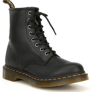 Dr. Martens nappa combat boots